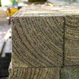 sawn square post