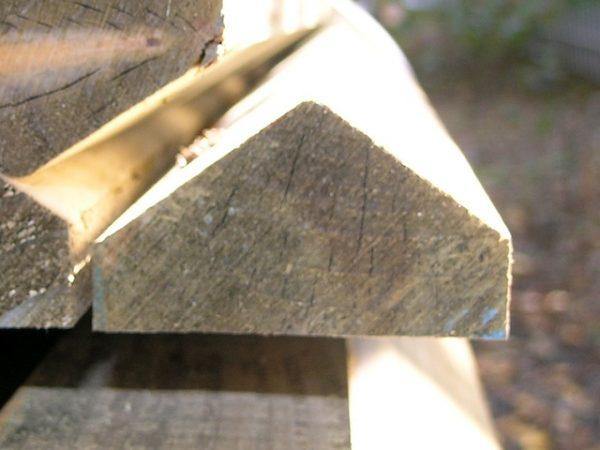 sawn capping rail