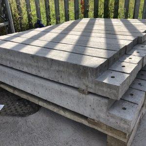 concrete deck post