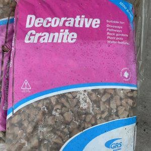 decorative granite 25kg bag