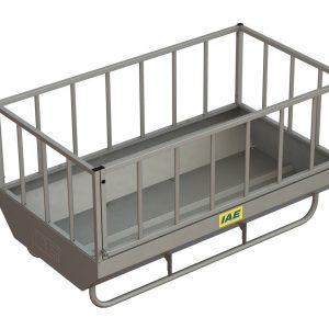 rectangular feed bin