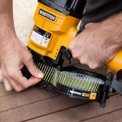 Bostitch Coil Nailer & Nails