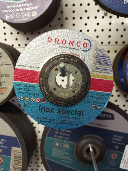 4.5in DC Cutting Disc #